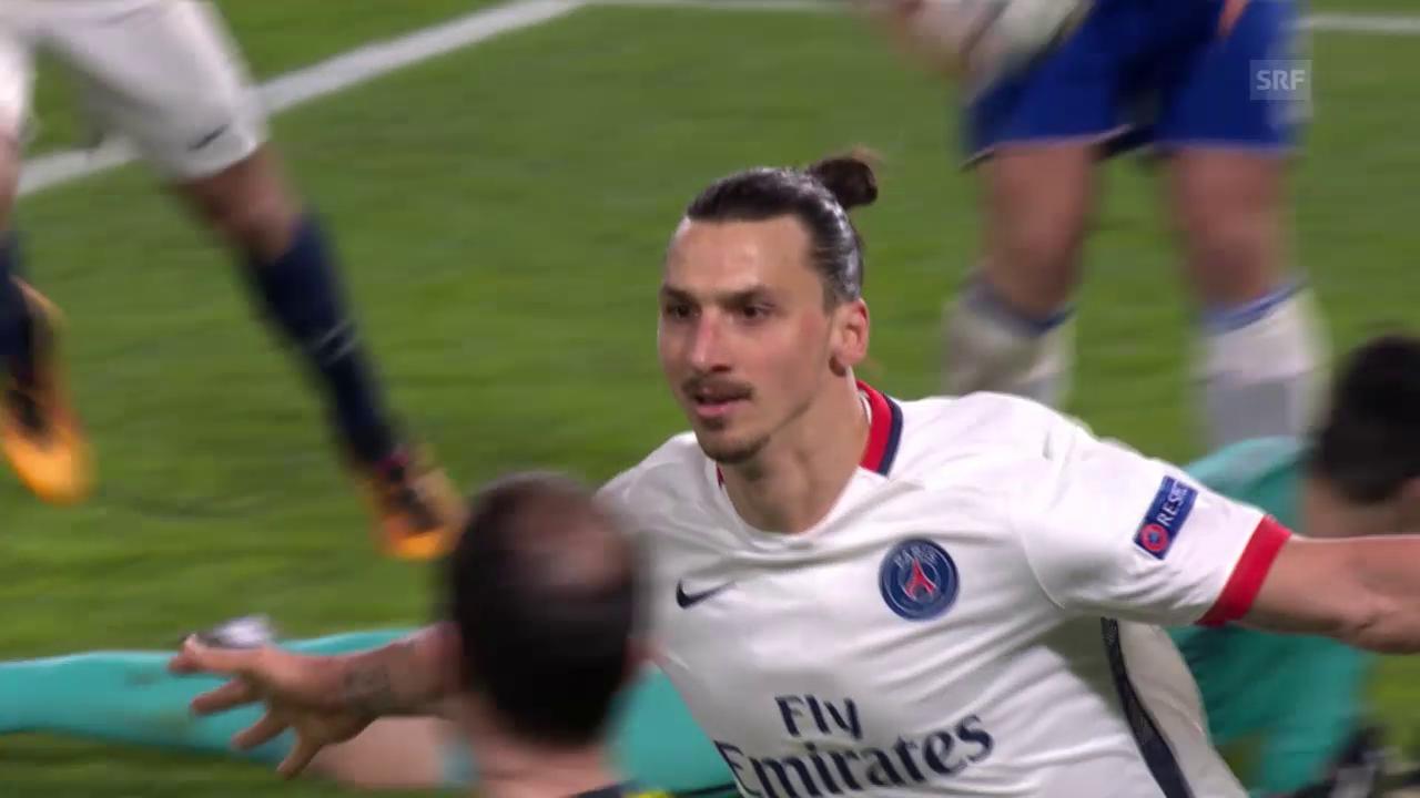 PSG dank Ibrahimovic-Show im Viertelfinal