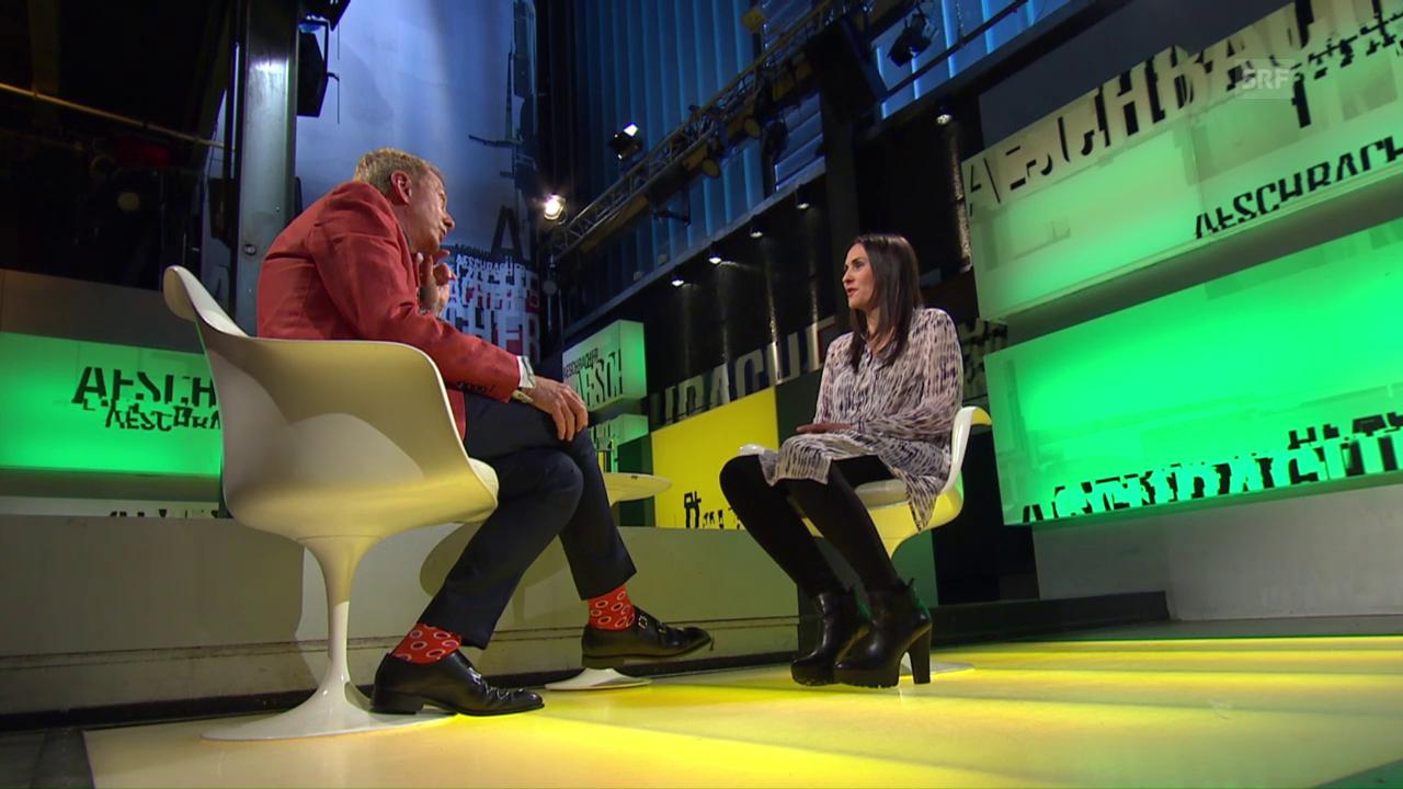 Andrea Müller bei «Aeschbacher»