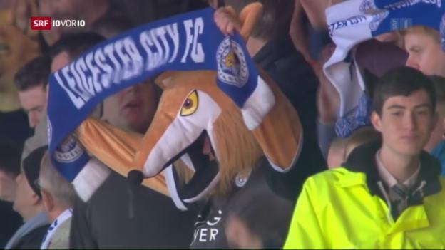 Video «Leicester City steht vor Fussball-Sensation» abspielen