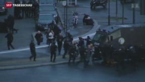Video «Geiselnahmen in Pariser Supermarkt beendet» abspielen