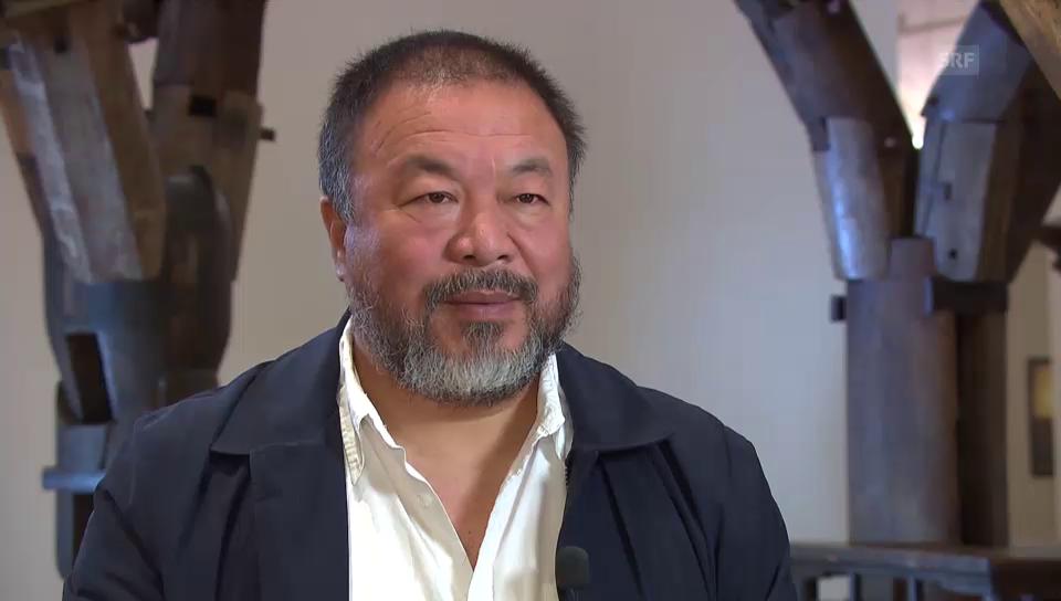 Ai Weiwei im Interview mit der «Tagesschau» (englisch)