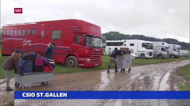 Reiten: CSIO St. Gallen frühzeitig beendet («sportaktuell»)