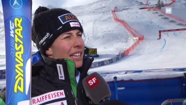 Interview mit Dominique Gisin