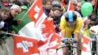 Video «Rad: Zeitfahren Tour de Romandie» abspielen