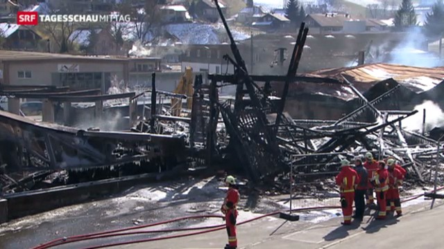 Grossbrand in Oberdiessbach