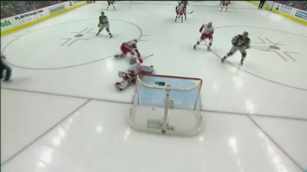Video «Eishockey: Brunner und Co. kassieren nach 6 Sekunden ein Gegentor» abspielen