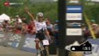Video «Mountainbike: Weltcup in Mont-Sainte-Anne (Ka)» abspielen