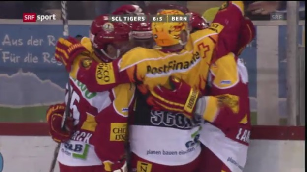 Video «SCL Tigers -SC Bern («sportaktuell»)» abspielen