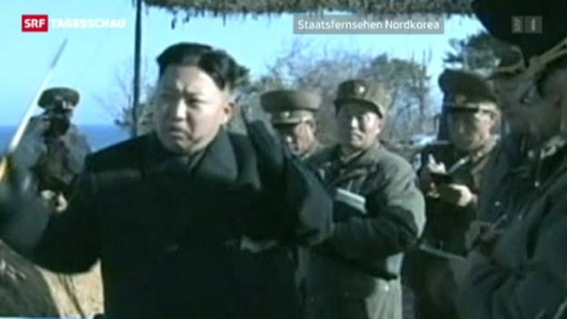 Video «Nordkorea setzt weiter auf Provokation» abspielen