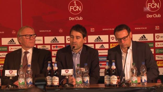 Video «Fussball: Weiler neuer Nürnberg-Trainer» abspielen