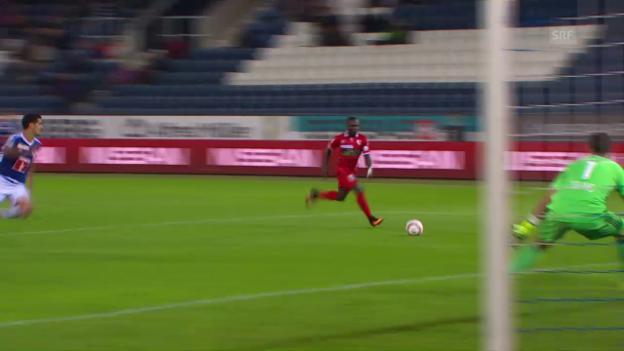 Video «Sion holt in Luzern in extremis einen Punkt» abspielen