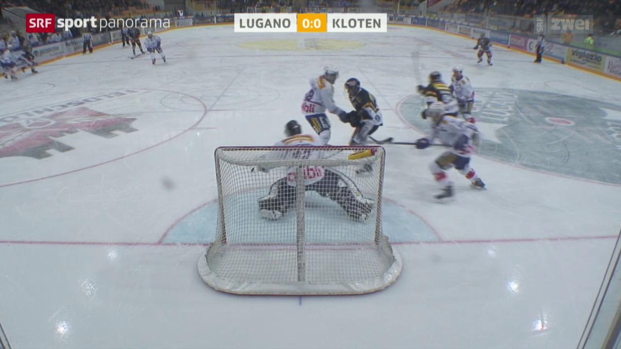 Eishockey: NLA, Lugano – Kloten