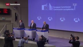 Video «Brüssel schlägt Visafreiheit für Türkei vor» abspielen