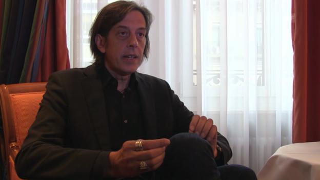 Video «Pedro Lenz: «Die Atmosphäre ist dieselbe wie im Buch»» abspielen