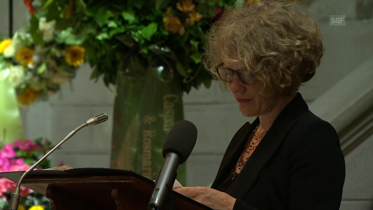 Corine Mauch: «Vielen von Euch hat er das Leben gerettet»