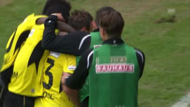 Video «Young Boys - Lausanne («sportpanorama»)» abspielen