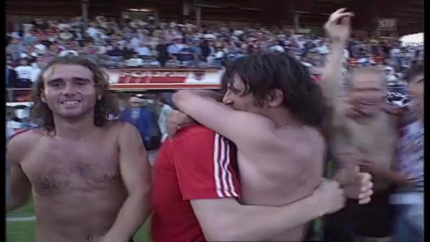 Video «1993: Aarau ist Schweizer Meister» abspielen