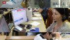 Video «Schweizer Jobwunder: Besonders stark wächst die Verwaltung» abspielen