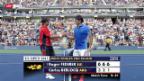 Video «Tennis: Roger Federer - Carlos Berlocq» abspielen