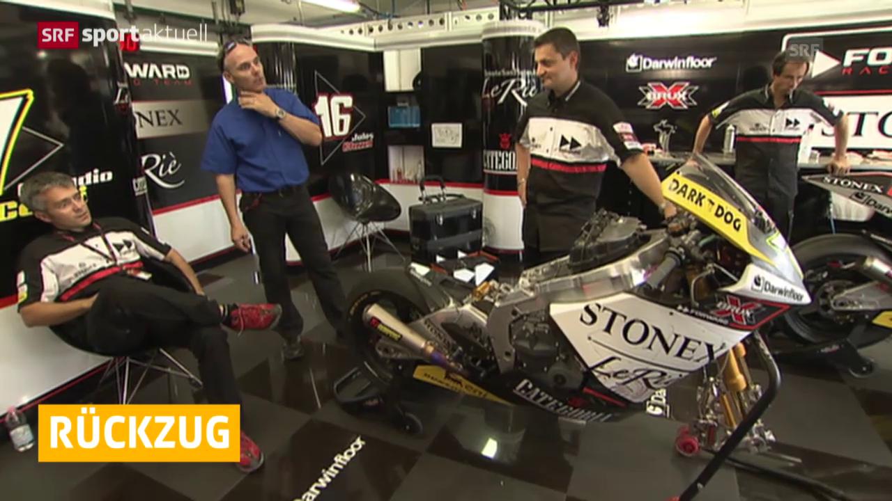 Motorrad: Moto2, Suters Rückzug aus dem Moto2-Business