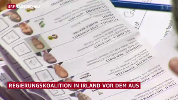 Video «Düstere Aussichten für Regierungskoalition» abspielen