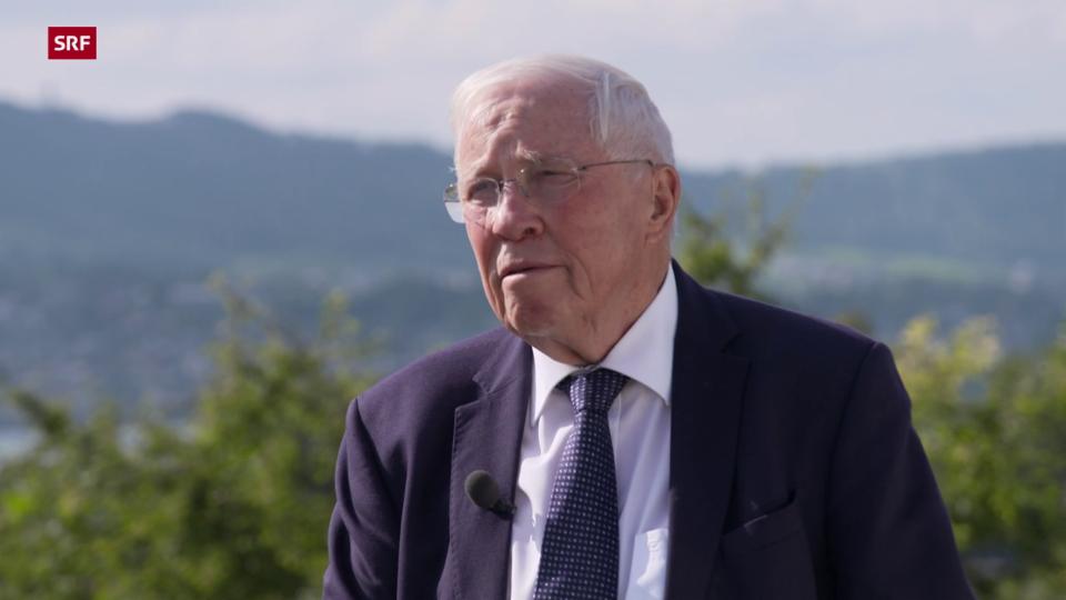 Alt Bundesrat Blocher: «Ich empfehle, zu Hause zu bleiben»