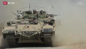 Video «Ist Israels Reaktion gerechtfertigt?» abspielen