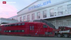 Video «Stadler Rail stellt Weichen in Russland neu» abspielen