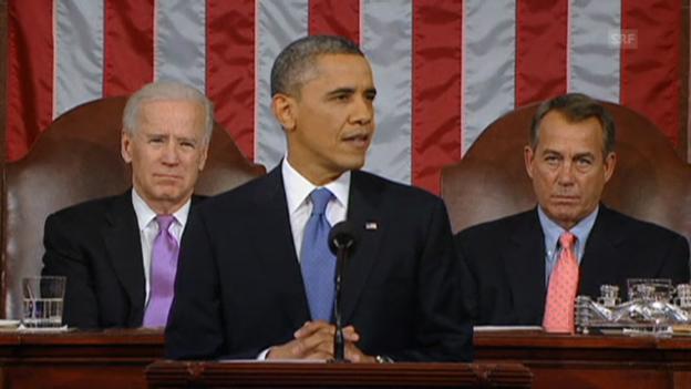 Video «Obama: Mittelklasse stärken» abspielen