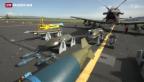 Video «Mit Trainingsflugzeugen den Schweizer Luftraum sichern» abspielen