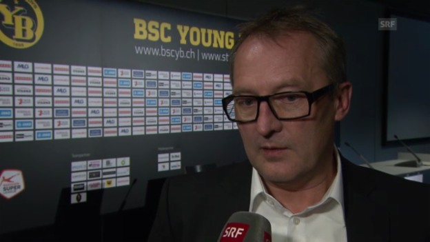 Video «Interview mit YB-Sportchef Fredy Bickel» abspielen