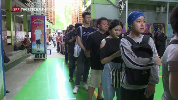 Video «Wahlen in Thailand – eine Alibi-Übung?» abspielen