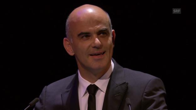 Video «Eröffnungsrede Alain Berset» abspielen