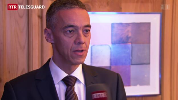 Laschar ir video «Discurs cun Marcel Suter, il schef da l'uffizi da migraziun grischun»