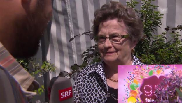 Video ««g&g feiert mit»: Therese aus Benzenschwil» abspielen