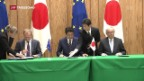 Video «Kritik an Freihandelsabkommen mit Japan» abspielen
