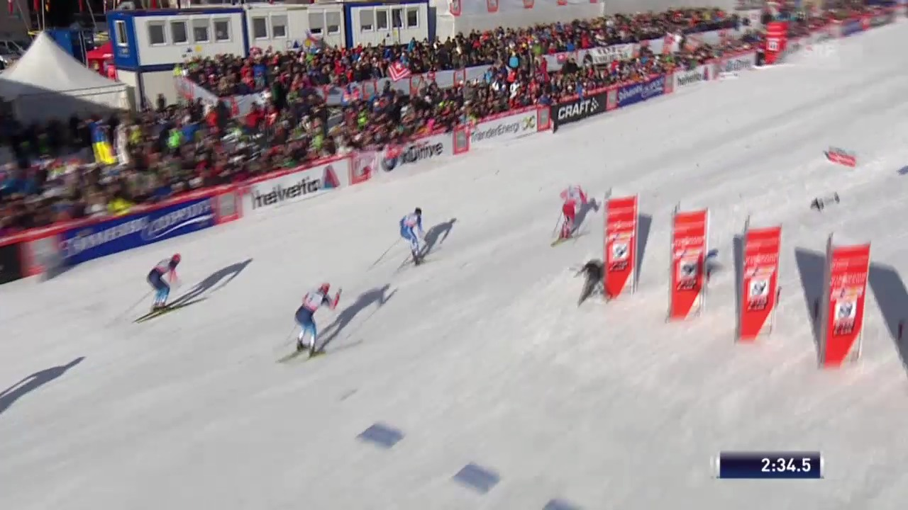 Final-Heat der Männer («sportlive», 15.12.2013)