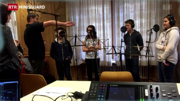 Laschar ir video «Minisguard dals 21.02.2015»
