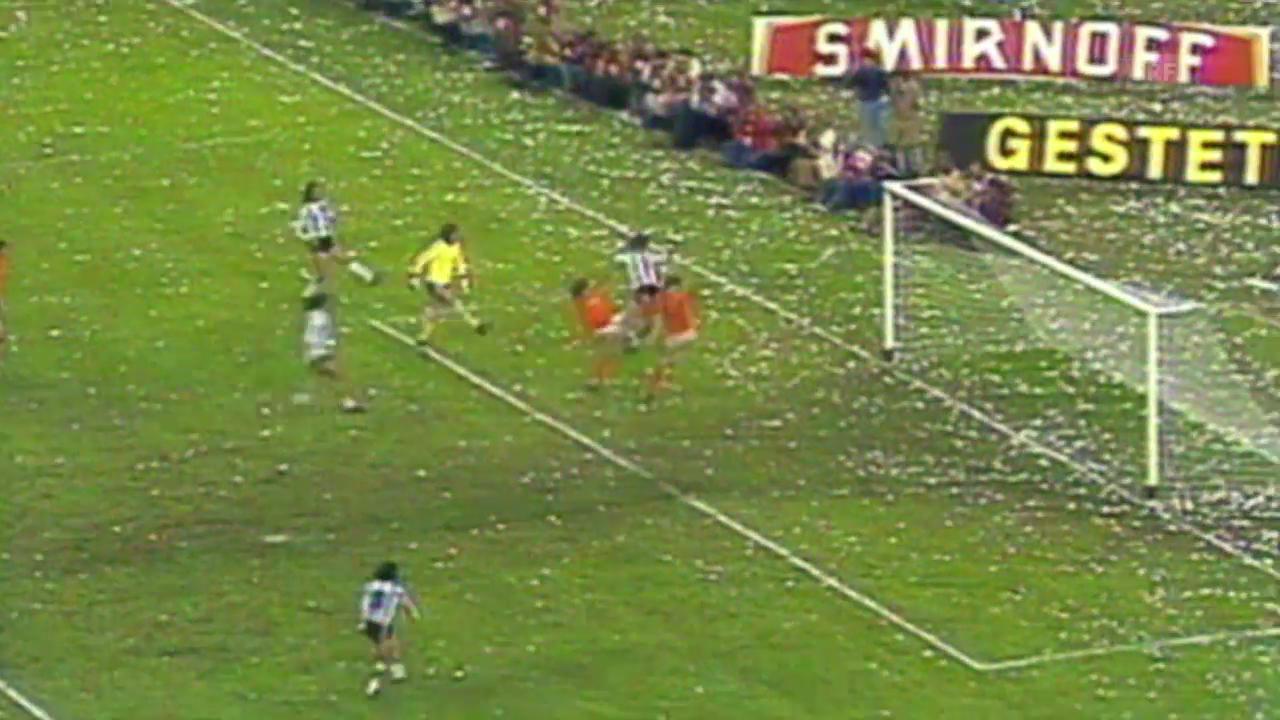 WM-Final 1978 Argentinien-Niederlande