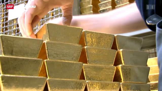 Schweizerische Nationalbank lüftet Goldgeheimnis
