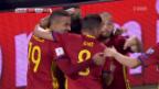 Video «Spanien holt den entscheidenden Sieg» abspielen