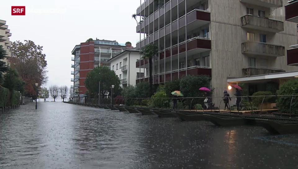Neuer Hochwasser-Alarm im Tessin
