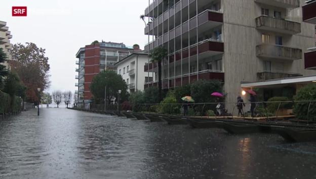 Video «Neuer Hochwasser-Alarm im Tessin» abspielen