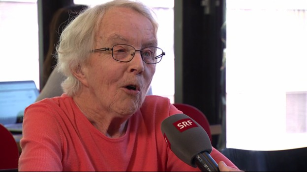 Video «Marianne Bötschi - Die älteste Bewerberin von «Hallo SRF!»» abspielen