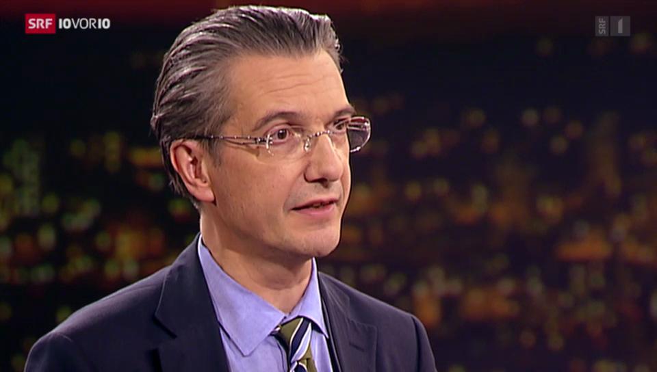 Gesundheitsökonom Willy Oggier zur Kostenbremse