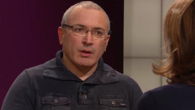 Video «Chodorkowski bringt sich in Position» abspielen