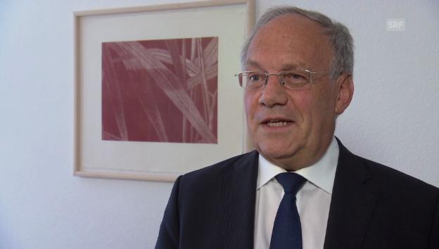 Video «Schneider-Ammann über die Wende bei «Horizon 2020»» abspielen