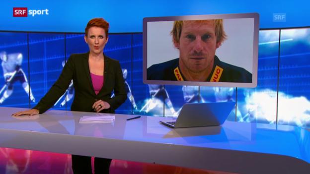 Video «Eishockey: Beaudoin zurück zu Biel («sportaktuell»)» abspielen