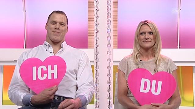 «Ich oder Du» mit Schwinger Matthias Sempach und Heidi Jenny
