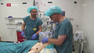 Video «Wenn ein falscher Entscheid zum Tod führen kann» abspielen